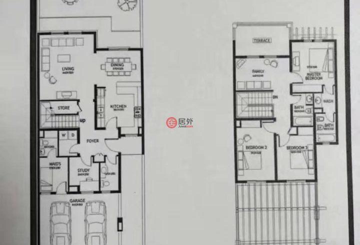 阿联酋迪拜迪拜的房产,Springs,编号44475926