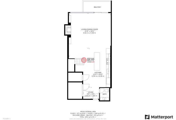 加拿大安大略省多伦多的房产,360 Bloor St E, Unit 107,编号56344960