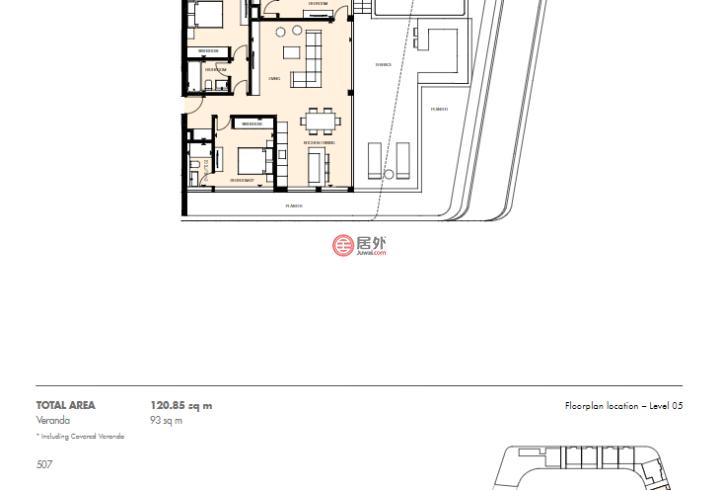 塞浦路斯利马索尔利马索尔的房产,Potamos Germasogeias,编号54961992