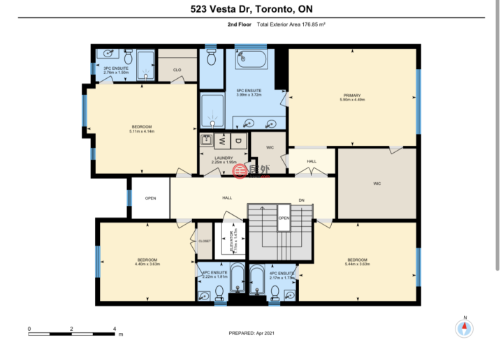 加拿大安大略省多伦多的房产,523 Vesta Drive,编号58479659