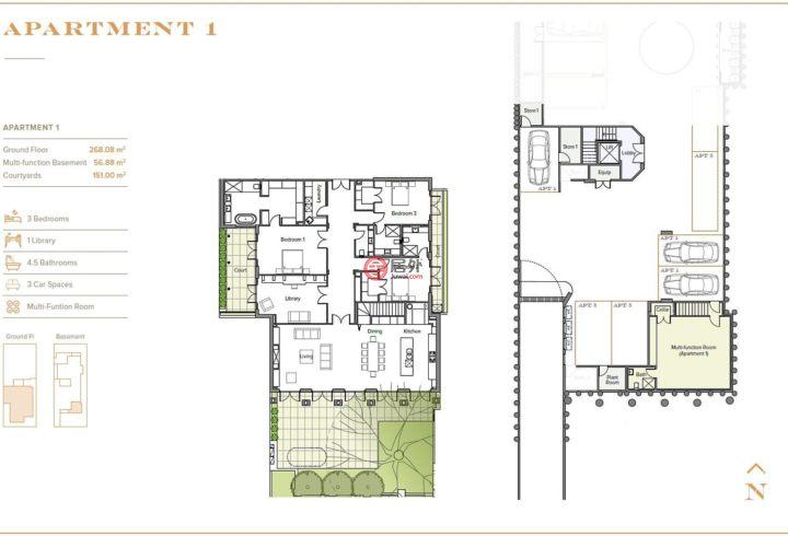 澳大利亚维多利亚州Brighton的房产,1/20 Glyndon Avenue,编号29189037