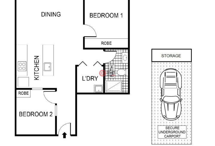 澳大利亚澳大利亚首都领地Belconnen的房产,77/39 Benjamin Way,编号49956410