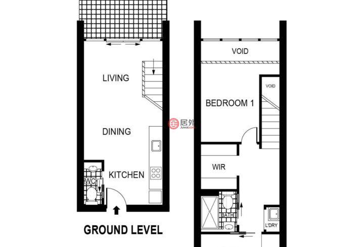 澳大利亚澳大利亚首都领地Braddon的房产,412/24 Lonsdale Street,编号51824620